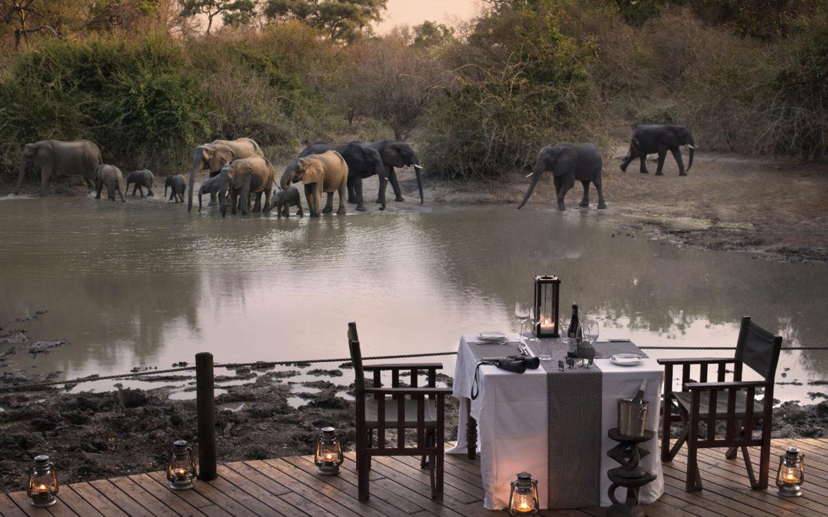 Kanga Camp, Mana Pools National Park, Zimbabwe