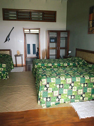 Twin bed bure - Aroha Taveuni Resort - Fiji Dive Resorts