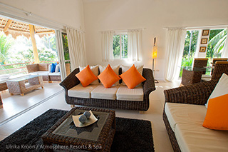 Living area - Penthouses - Atmosphere Resorts & Spa - Philippines Dive Resorts