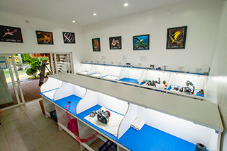 Camera room - Dive center - Atmosphere Resorts & Spa - Philippines Dive Resorts