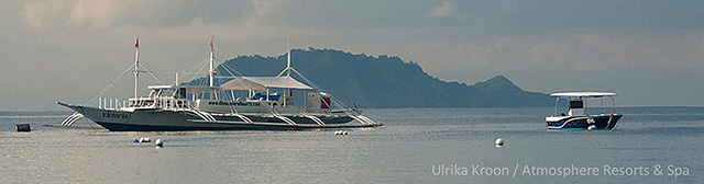 Dive boats - Atmosphere Resorts & Spa - Philippines Dive Resorts