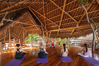 Yoga class - Atmosphere Resorts & Spa - Philippines Dive Resorts
