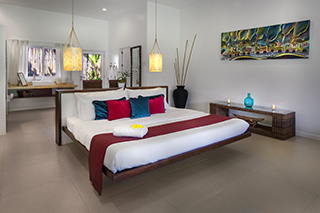 Bedroom - Deluxe Suite Rooms - Atmosphere Resorts & Spa - Philippines Dive Resorts
