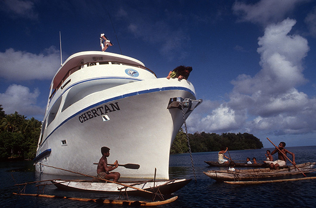 MV Chertan - PNG Liveaboards - Dive Discovery PNG