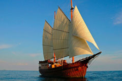 Two Thailand - Burma (Mergui) trips are available onboard SY Diva Andaman