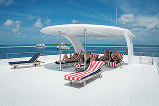 Sun deck - MV Emperor Leo - Maldives Liveaboards
