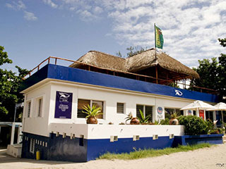 Dive Center - Hotel Tofo Mar - Inhambane, in Mozambique