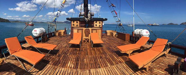 Sun deck - MSY Ilike - Indonesia Liveaboards