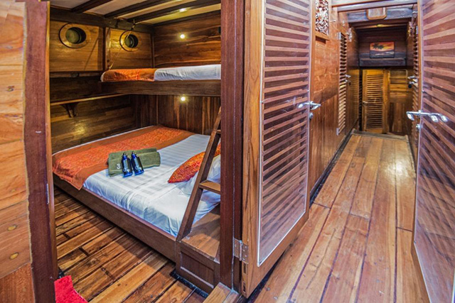 Cabin - MSY Ilike - Indonesia Liveaboards