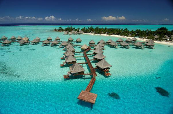 Hotel InterContinental Bora Bora Le Moana Resort, Bora Bora - Tahiti Dive Resorts  - Dive Discovery Tahiti
