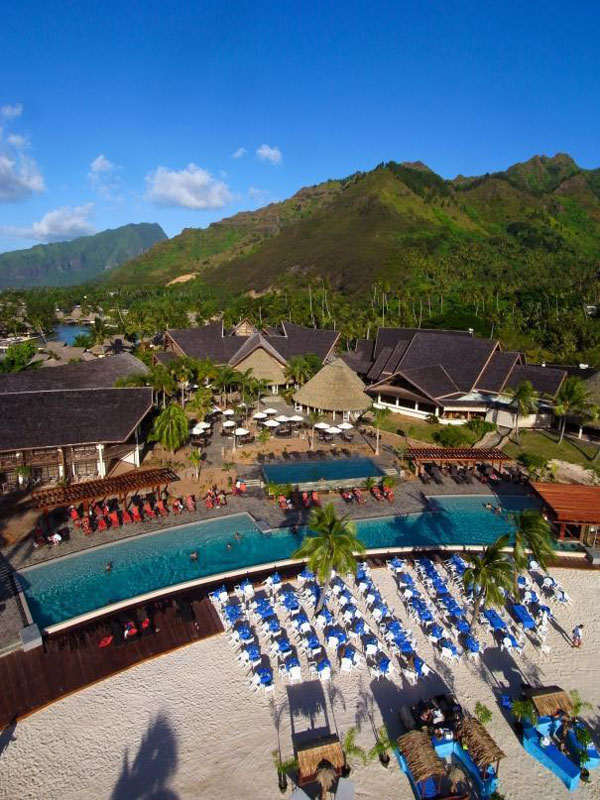 Hotel InterContinental Moorea Resort and Spa, Moorea - Tahiti Dive Resorts  - Dive Discovery Tahiti