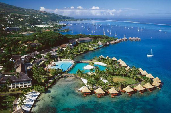 InterContinental Tahiti Resort, Tahiti - Tahiti Dive Resorts  - Dive Discovery Tahiti