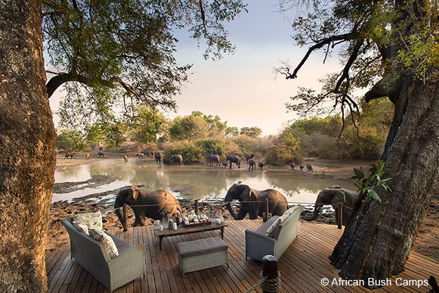Kanga Camp, Mana Pools in Zimbabwe