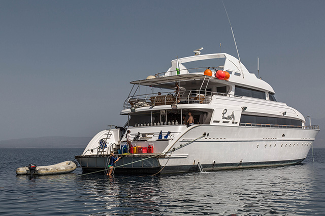 Dive Deck - M/Y Lucy - Djibouti Live Aboard