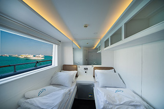Cabin in Main Deck - M/Y Lucy - Djibouti Live Aboard