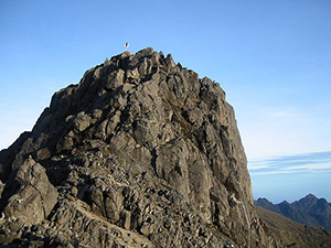 Mount Wilhelm - highest mountain in Papua New Guinea