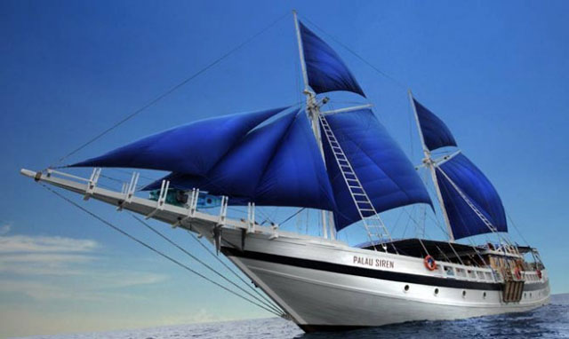 S/Y Palau Siren - Palau Liveaboards - Dive Discovery Micronesia