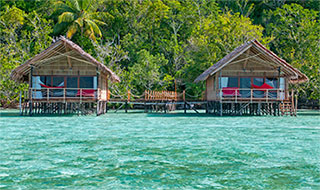 Bungalows - Papua Explorers Dive Resort in Raja Ampat, West Papua