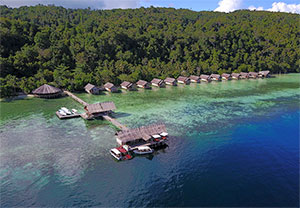 Papua Explorers Dive Resort in Raja Ampat, West Papua - Dive Discovery Indonesia