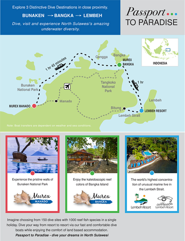 Passport to Paradise - Dive Map