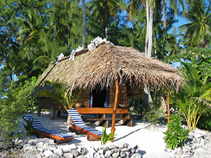 Raimiti pension in Fakarava - Tahiti Dive Resorts