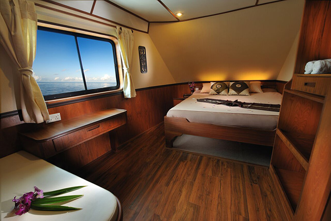 Cabin - Raja Manta Explorer - Indonesia Liveaboard