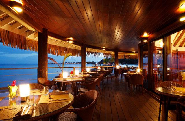 Latitude  Restaurant Bora Bora Menu
