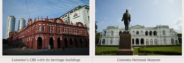 Sri Lanka travel destinations - Colombo's CBD with its heritage buildings - Colombo National Museum