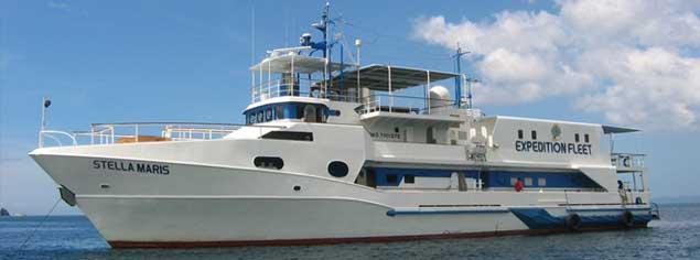 M/Y Stella Maris Explorer - Philippines Liveaboards - Dive Discovery Philippines