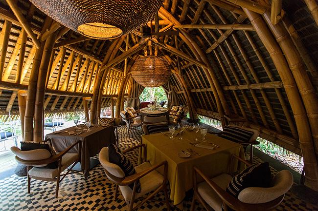 Dining area - Sundy Praia - Príncipe Island Resort