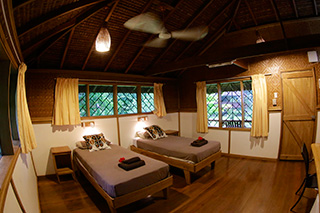 Plantation House interior - Walindi Plantation Resort - PNG Dive Resorts