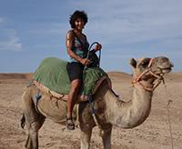Cindi in Morocco