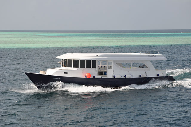 Dhoni - Dive boat for Maldives Blue Force One