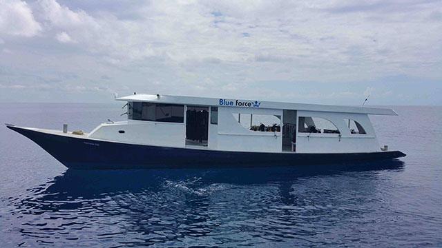 Dhoni - Dive boat for Maldives Blue Force Two