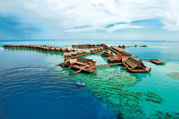 Sipadan kapalai dive resort malaysia dive resorts dive - Kapalai dive resort price ...