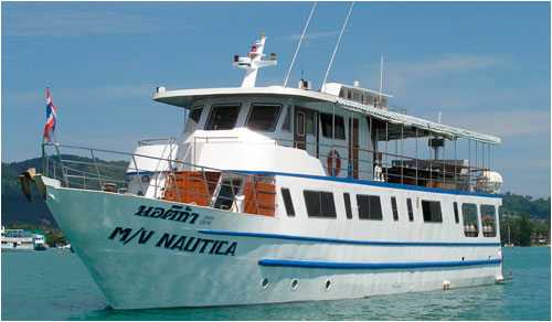 Nautica - Thailand Liveaboards - Dive Discovery Thailand