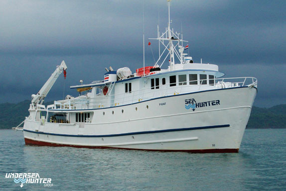 Sea Hunter - Cocos Island Liveaboards - Dive Discovery Cocos Island