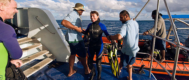 The Nai'a - Fiji Liveaboards - Dive Discovery Fiji Islands